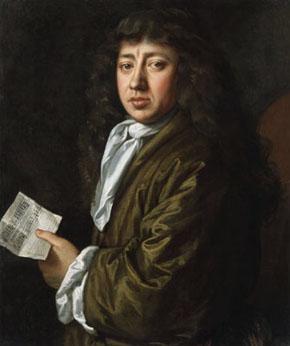 Samuel Pepys portrait by John Hayls, 1666
