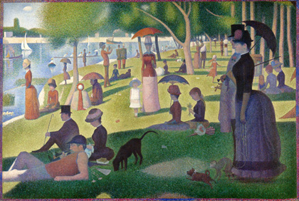 <em>A Sunday on La Grande Jatte</em> (1884) by Georges Seurat. Wikimedia Commons/Art Institute of Chicago