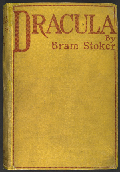 <em>Dracula</em> first edition, Archibald Constable & Co., 1897. Photo © British Library Board