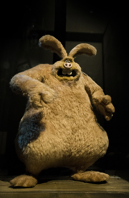 The <em>Wallace and Gromit</em> Were-Rabbit, courtesy of Aardman Animations