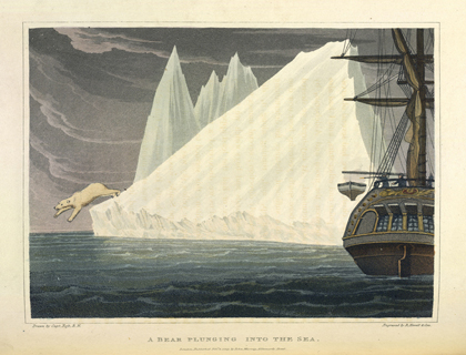 Illustration from <em>A Voyage of Discovery… Inquiring into the Probability of a North-West Passage</em> by John Ross. London, 1819