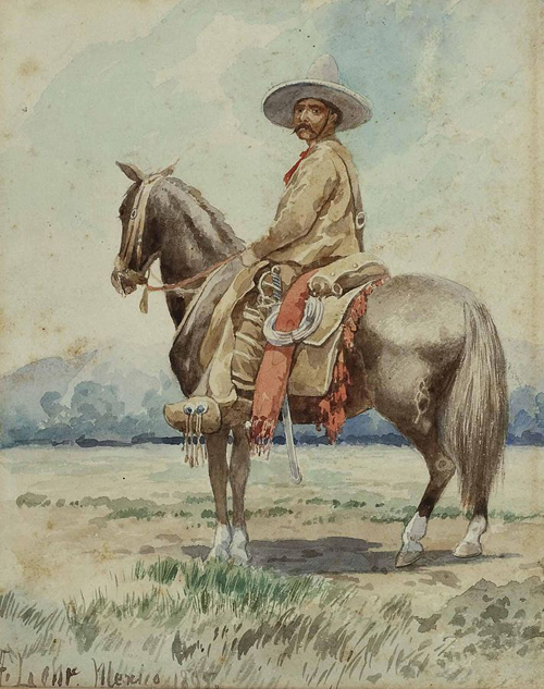 <i>Gaucho</i> by August Lohr, 1895. Wikimedia Commons