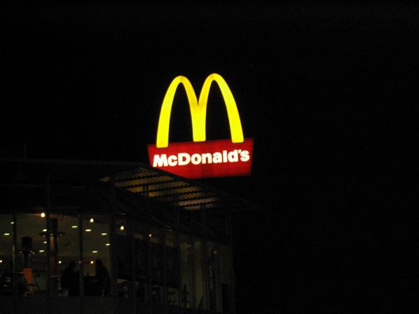 McDonald's, Sulzbach, Germany. Maimartpc/Wikimedia Commons