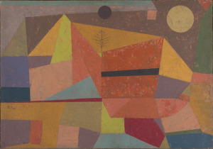 <i>Joyful Mountain Landscape</i> by Paul Klee, 1929. Yale University Art Gallery/Wikimedia Commons
