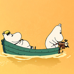 Keeping the Moomins above water