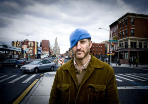 Jonathan Ames at Fourth Avenue and Union Street, Brooklyn