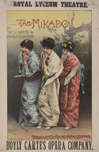 Theatre poster, Edinburgh, 1885. National Library of Scotland, Weir Collection/Wikimedia Commons