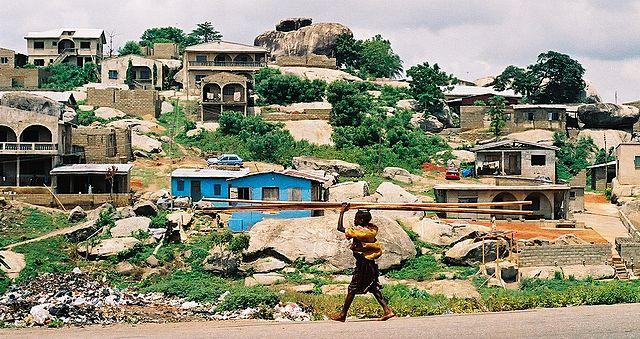 Kuto Road, Abeokuta, Nigeria. Melvin 'Buddy' Baker/Wikimedia Commons