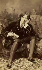 Portrait of Oscar Wilde by Napoleon Sarony, 1882 (albumen silver print). Metropolitan Museum of Art/Wikimedia Commons