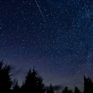 Perseid meteor shower Thursday, 13 August 2015 in Spruce Knob, West Virginia. Bill Ingalls/NASA/Wikimedia Commons
