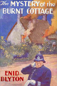 First edition cover of the first book in Enid Blyton's 'Five Finder-Outers and Dog' series. Methuen, 1943. Wikimedia Commons
