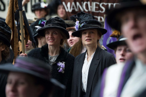 Anne-Marie Duff (Violet) and Carey Mulligan (Maud) in <i>Suffragette</i> © Steffan Hill/Pathé
