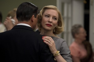 Cate Blanchett as Carol and Kyle Chandler as Harge in <i>Carol</i>. StudioCanal