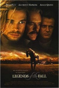 <i>Legends of the Fall</i> film poster. Columbia Tristar, 1994