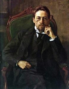 Portrait of Anton Pavlovich Chekhov by Osip Braz, 1898. Tretyakov Gallery, Moscow/Wikimedia Commons