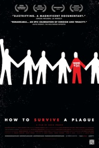 <i>How to Survive a Plague</i> film poster. Sundance Selects/Wikimedia Commons