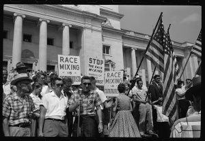 Anti-integration rally, Little Rock, August 1959 courtesy Magnolia Pictures/Altitude Films
