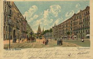 Tauentzienstraße, Charlottenburg, 1902. zeno.org/Wikimedia Commons