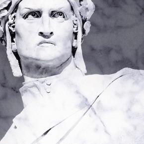 Dante's nose
