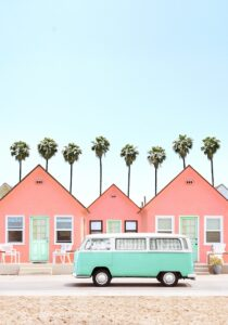 Roberts Cottages, Oceanside, California, <em>c</em>. 1928 © Paul Fuentes. Accidentally Wes Anderson