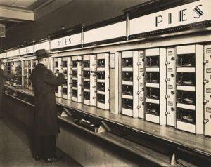 "<em>Automat, 977 8th Avenue, Manhattan</em> by Berenice Abbott, 1936. <a href=""https://www.metmuseum.org/art/collection/search/301906"" target=""_blank"" rel=""noopener"">Metropolitan Museum of Art</a>"
