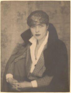 "Portrait of Djuna Barnes by Berenice Abbott, 1925. <a href=""https://www.metmuseum.org/art/collection/search/265058"" target=""_blank"" rel=""noopener"">Metropolitan Museum of Art</a>"